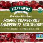 Decas Farms Paradise Meadow Organic Fresh Cranberries